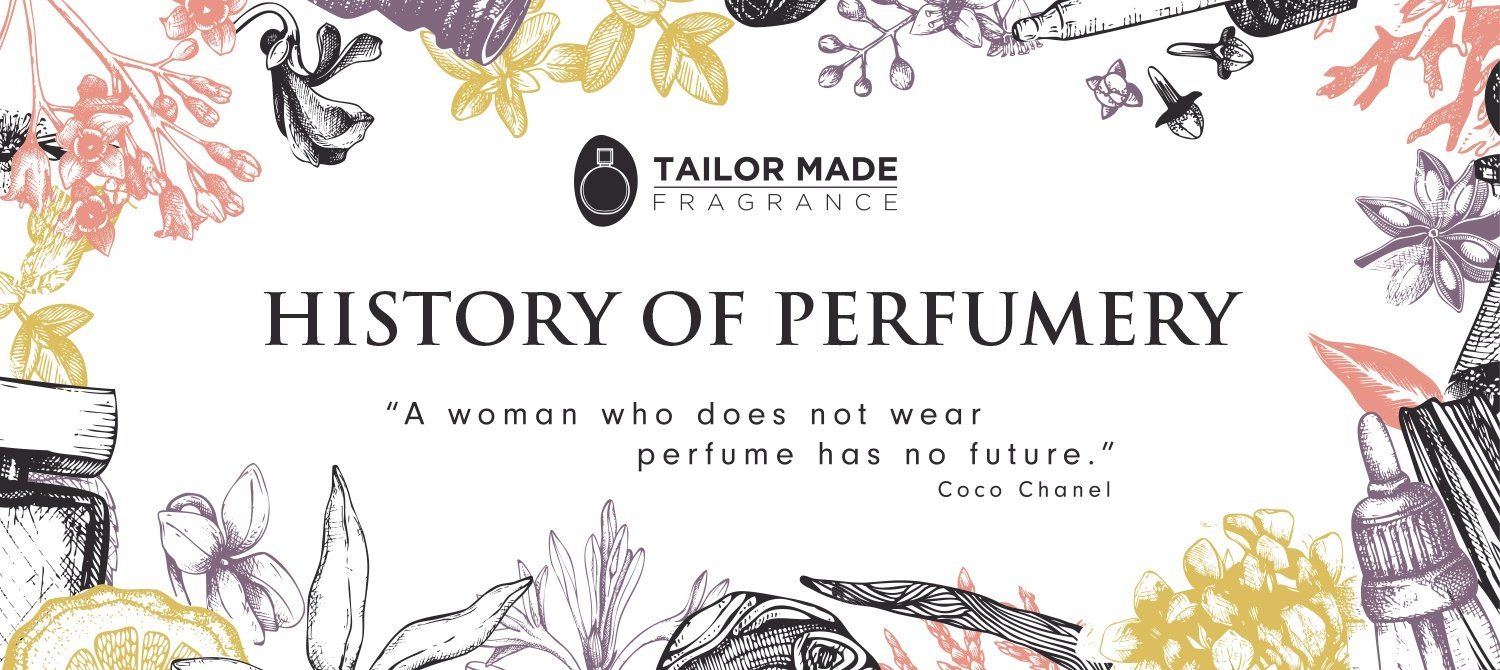 Tailor Made Fragrance - History of Perfume