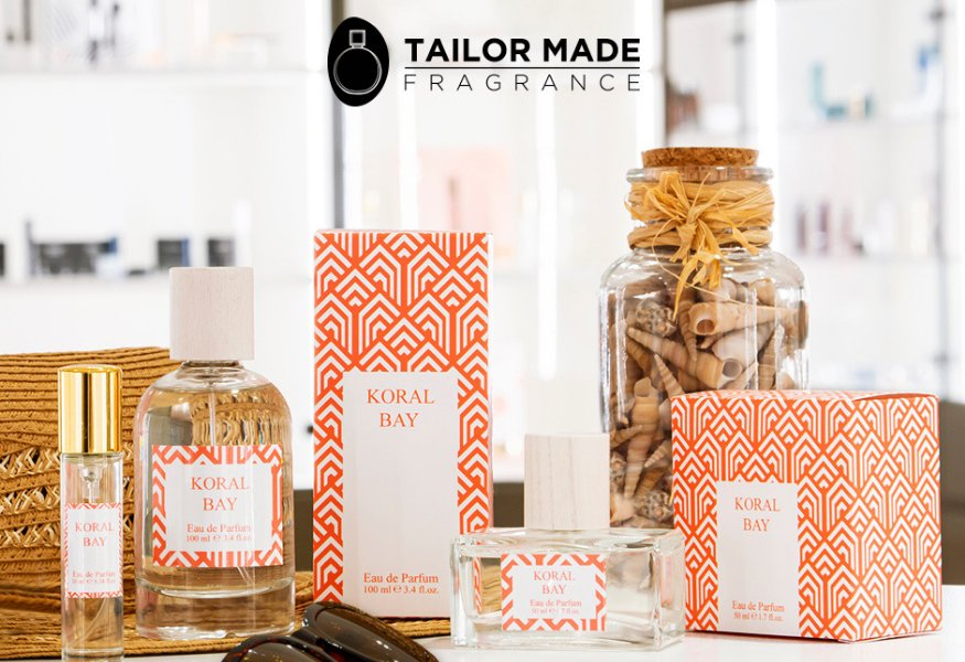 Realize a fragrance for your brand with Tailor Made Fragrance